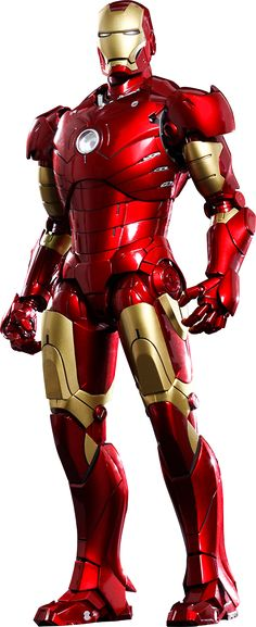 Hot Toys Iron Man Mark III Sixth Scale Figure  $309.99  Click on picture until you get to Sideshow page to see more info, details, and to pre-order direct from Sideshow!!!