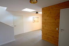 fassade und h rmann garagentor verkleidet von trespa. Black Bedroom Furniture Sets. Home Design Ideas