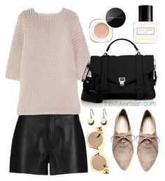 """J brand"" by thestyleartisan ❤ liked on Polyvore featuring J Brand, Proenza Schouler, Steve Madden and Marc Jacobs"
