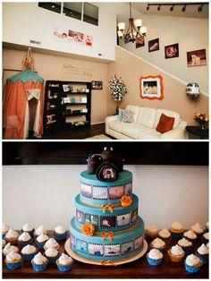 Photography cake
