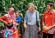 Dutch Queen Máxima's working visit to Indonesia
