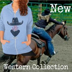 New Western Collection and already 20% off! Enjoy #western #hoodie
