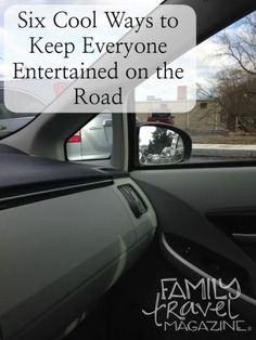 Six Ways to Keep Everyone Entertained on Family Road Trips | Travel tips