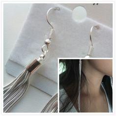 Vintage-Long-Silver-Color-Tassel-Earrings-High-Quality