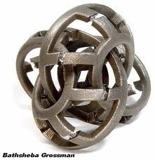 Sculptures mathématiques de Bathsheba Grossman
