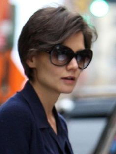 katie holmes pixie cut - Google Search