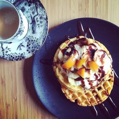 Talktochef.com presents who loves fine waffles and has done them right Waffles, Presents, Cooking, Breakfast, Food, Gifts, Kitchen, Morning Coffee, Essen
