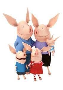 olivia the pig & family