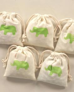 Treat bags are great for children's birthday parties, and your children can even help make them. Create these unique bags with a stamp made from a potato and a cookie cutter. It's fun, and the kids will love them.