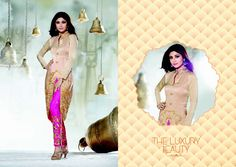 Be your own style icon with this  #ShilpaShetty Off White Crepe #Silk Churidar #DesignerSuit  | @ $101.75
