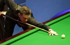 Mark Selby Photos Photos - Mark Selby of England in action against Kurt Maflin of Norway during day one of the Betfred World Snooker Championship at Crucible Theatre on April 18, 2015 in Sheffield, England. - 2015 Betfred World Snooker Championship - Day One
