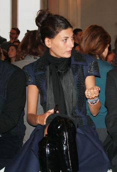 GIOVANNA BATTAGLIA in FRONT ROW at ALBINO | | feed your stylefeed your style