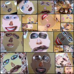 "Funny faces - from Rachel ("",) All About Me Eyfs, All About Me Topic, All About Me Crafts, All About Me Art, Feelings Preschool, All About Me Preschool Theme, Body Preschool, Eyfs Activities, Nursery Activities"