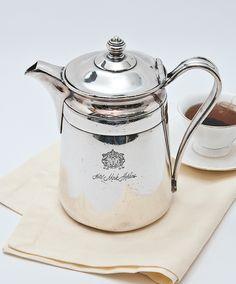 Large Hotel Mark Hopkins, S.F. Coffee Pot