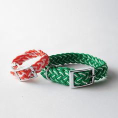 Kiss My Mutt™ Braided Collar. AHHHHH found on the company store!