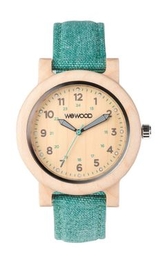 WeWOOD Women's Dehna Beige & Cyan - Maple
