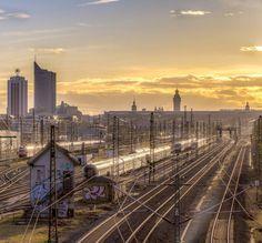 strohhut_pictures shared on Instagram: railway to... - #thisisLeipzig
