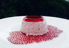 CHIA PANNACOTTA RECIPE Hemp Protein Powder, Dessert Cups, Coconut Cream, Chia Seeds, Jelly, Panna Cotta, Blueberry, Vanilla, Dulce De Leche