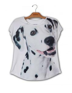 Camiseta Premium Evasê Dálmata www.usenatureza.com #UseNatureza #JeffersonKulig