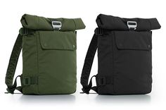 Bluelounge small backpack comes in Green and Black. Volume ? Quick access pocket ? Side zipper to main compartment ?