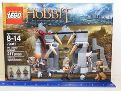 Lego -The Hobbit The Desolation of Smaug. Model # 79011 - Dol Guldur Ambush - 217 piece set. Ages 8-14 years. There are traps everywhere in the old ruin. Can Beorn avoid the huge spikes at the entrance, hidden flick missile and deadly swinging hammer and axe traps?. | eBay!