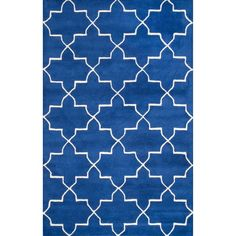 nuLOOM Handmade Luna Moroccan Trellis Wool Rug (8'3 x 11') - Overstock™ Shopping - Great Deals on Nuloom 7x9 - 10x14 Rugs