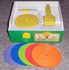 My first record player.