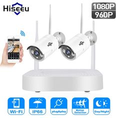 Hiseeu 1080P 960P wireless CCTV System IP Bullet Camera HD 2MP NVR Recorder Video Security Camera Surveillance System  Price: $ 125.99 & FREE Shipping   #computers #shopping #electronics #home #garden #LED #mobiles