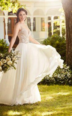 Elegantly Romantic Spring 2018 Martina Liana Wedding Dresses - MODwedding