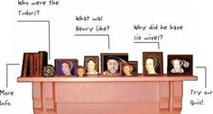 King Henry VIII and the Tudors, info about young Henry, older Henry towards the end of his life, his wives, a quiz Young Henrys, Henry Viii, King Henry, Interactive Sites, Tudor Era, Creative Curriculum, Story Of The World, Teaching History, Educational Games