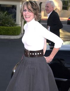 Film actress Diane Keaton won an Oscar for Best Actress in the Woody Allen film Keaton, who'd shown an early fondness.