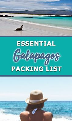 Everything you need for your Galapagos packing list including what to wear in the Galapagos and all the snorkelling and camera gear you'll want and need. Galapagos Trip, Galapagos Islands, Packing List For Travel, Packing Lists, Travel Plan, Sailing Trips, Equador, Top Travel Destinations, G Adventures