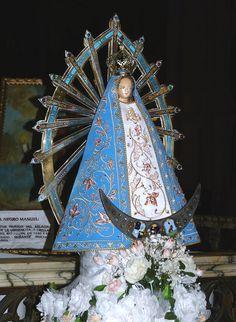 https://flic.kr/p/5HT2Th | Luján_Virgen Maria | Imagen de la Virgen Maria, en el interior de la Basílica. Luján, Provincia de Buenos Aires _ Argentina.