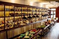 36 Hours in Porto, Portugal - via The New York Times 28.01.2016 | From its stunning Beaux-Arts station to its cool bars serving Porto's signature drink, this charming city combines the best of old and new. Photo: Colorful Portuguese wares line the shelves at A Vida Portuguesa.