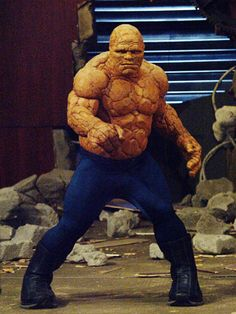 Michael Chiklis as The Thing Hero Movie, Movie Tv, Comic Book Heroes, Comic Books, Michael Chiklis, Good And Evil, Fantastic Four, Historical Pictures, Big Men