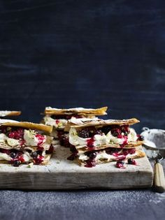Super indulgent mixed berry filo millefeuille | Jamie Oliver
