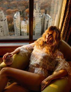 Glitter Fever - Madison Headrick by Inez van Lamsweerde & Vinoodh Matadin for Vogue Paris March 2018