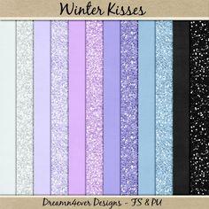 Digiscrap Freebie - FREE Dreamn4ever Designs: Winter Kisses Blog Trains