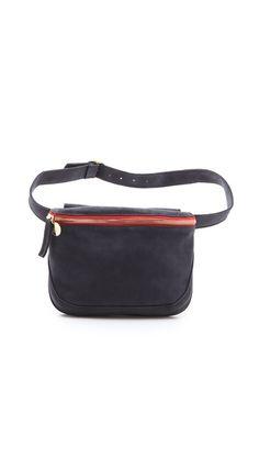 CLARE VIVIER Waist Bag in COGNAC Color