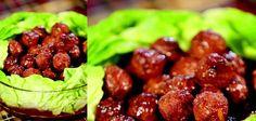 Sandra Lee Marmalade Meatballs- Marmalade Meatballs