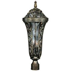 """Montecito Collection 20 1/2"""" High Outdoor Post Light -"""