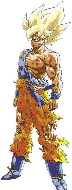 Super Saiyajin Son Goku by hattie