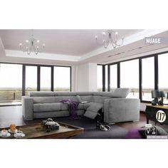 Nuage ülőgarnitúra - rendelhető opció: elektromos relax funkció , USB+Lámpa, ágyazható kanapé: Easy System , Simple System