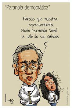 María Fernanda Cabal y sus opiniones sobre Gabo caricatura de Leo, Caricaturas - Semana.com