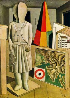The Metaphysical Muse, 1917Carlo Carrá