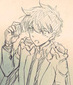 Conan Comics, Detektif Conan, Amazing Drawings, Cool Drawings, Detective, Kaito Kuroba, Kaito Kid, Magic Kaito, Cute Anime Boy