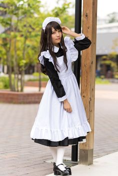 Maid Cosplay, Cute Cosplay, Cosplay Outfits, Maid Outfit, Maid Dress, Maid Uniform, School Girl Outfit, Fantasy Dress, Cute Costumes