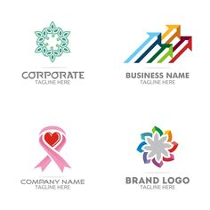 Free Logo Set – GraphicsFamily: Professional Logos, Illustrations, Mockups and Corporate Business, Business Names, Company Names, Company Logo, Logo Branding, Logos, Professional Logo, Free Logo, Logo Templates