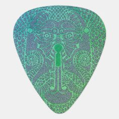 Wicked green Dragon-faced Keyhole Guitar Pick Dragon Face, Celtic Knot Designs, Green Dragon, Irish Celtic, Detail Shop, Guitar Picks, Green Man, Dog Design, Nursery Wall Art