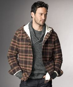 Hooded Chamois Cloth Shirt in Holiday Signature 2012 from L.L. Bean Signature on shop.CatalogSpree.com, my personal digital mall.